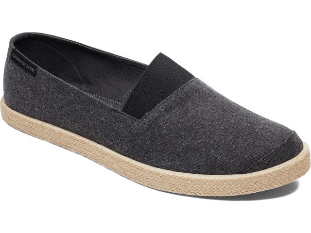 Quiksilver Espadrilled Shoes Men solid black